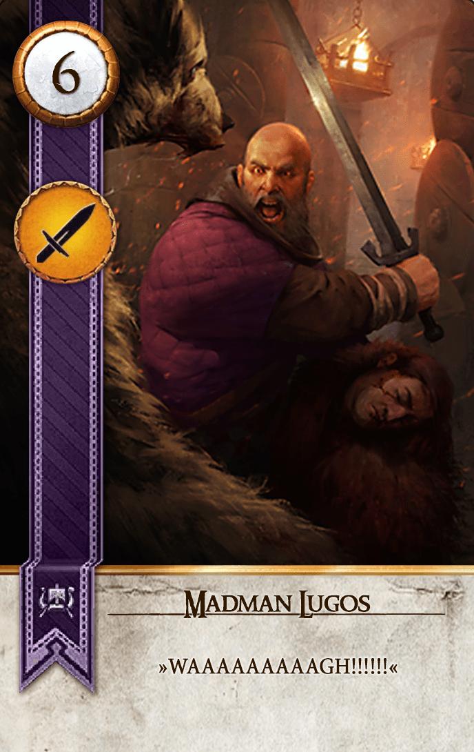 Madman Lugos Gwent Card