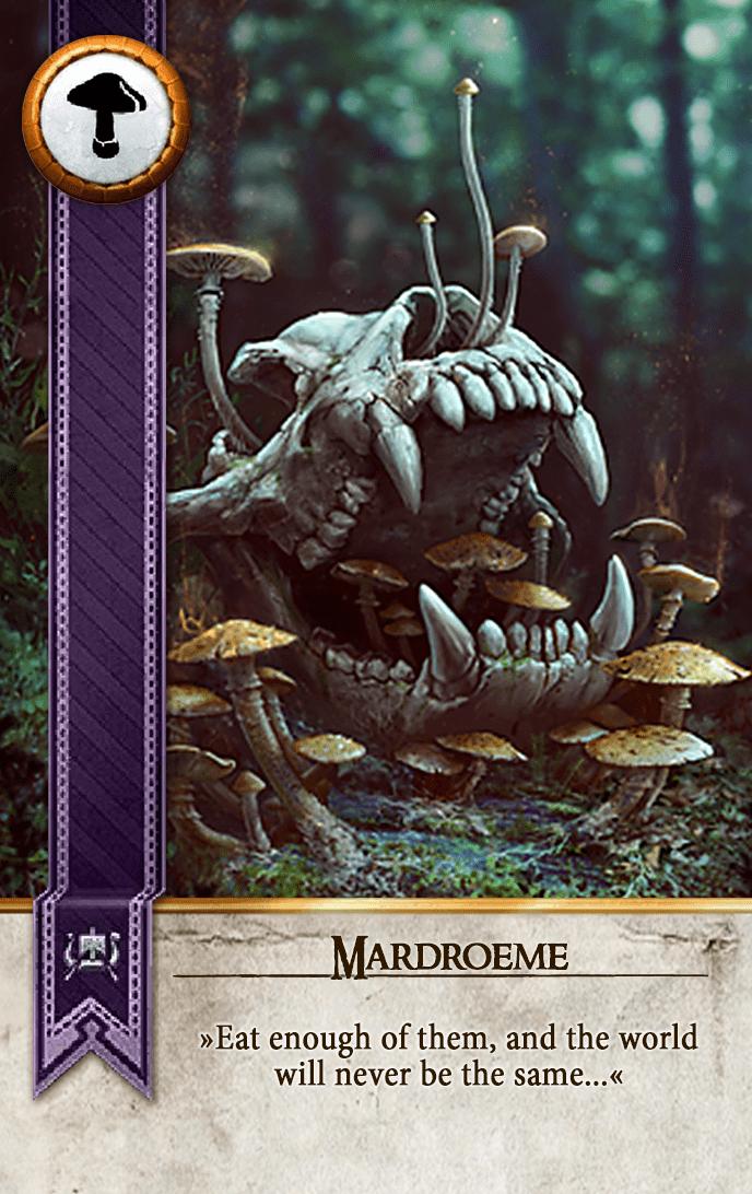 Mardroeme Gwent Card