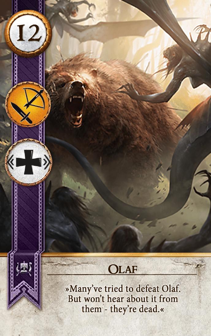 Olaf Gwent Card