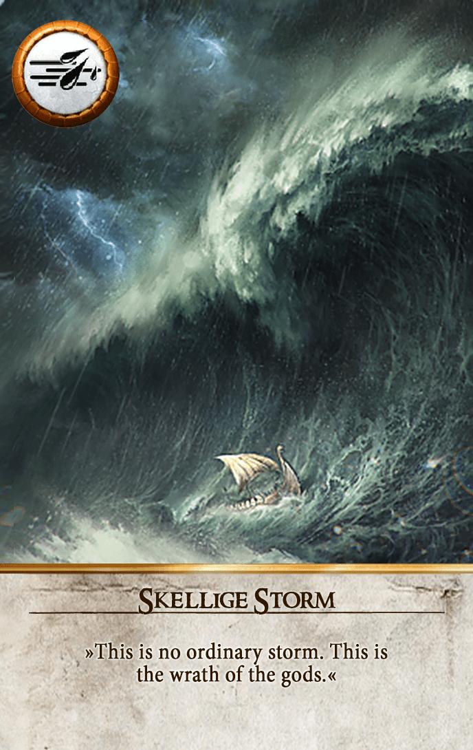 Skellige Storm Gwent Card