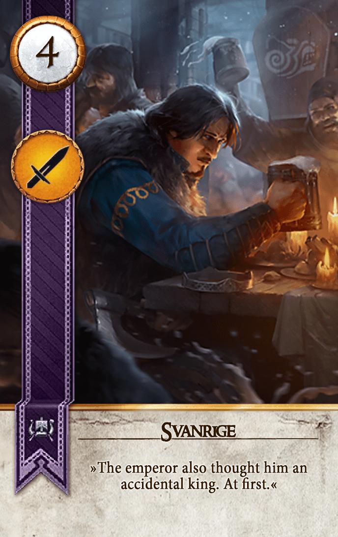 Svanrige Gwent Card
