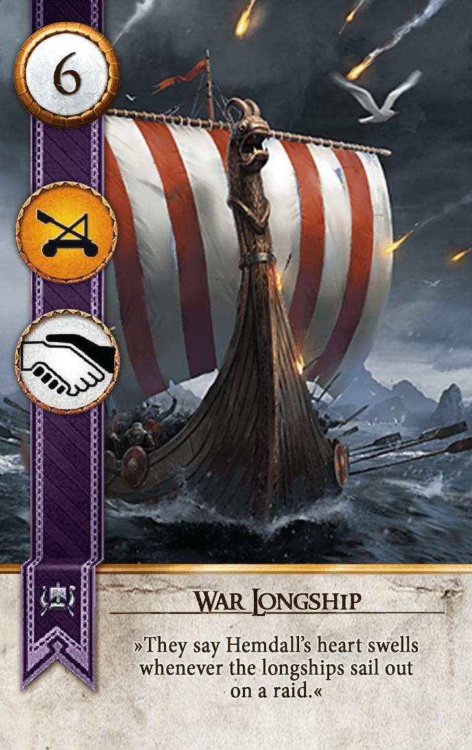 War Longship Gwent Card