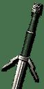 Enhanced Ursine Silver Sword