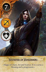 Yennefer of Vengerberg Gwent Card