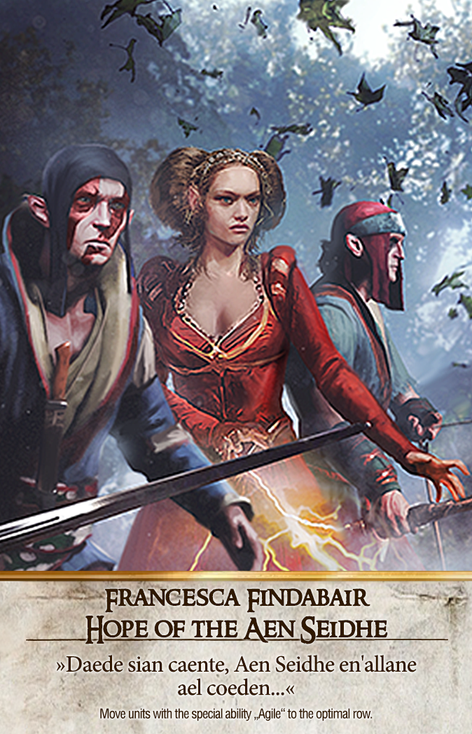 Francesca Findabair: Hope of the Aen Seidhe Gwent Card