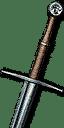 Enhanced Feline Steel Sword