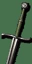 Enhanced Ursine Steel Sword