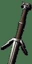 Enhanced Wolven Silver Sword
