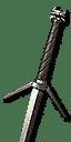 Feline Silver Sword