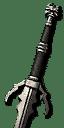 Mastercrafted Feline Silver Sword