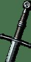 Mastercrafted Feline Steel Sword