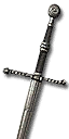 Mastercrafted Wolven Steel Sword