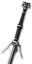 Superior Wolven Silver Sword